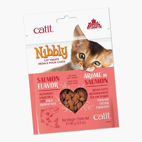 Catit Nibbly Cookies 90g Salmon
