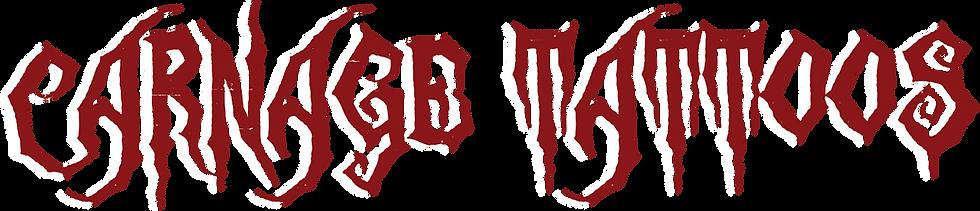 Carnage Tattoos Logo