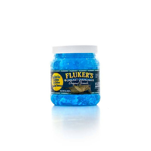 Flukers Cricket Quencher w/calcium 8oz