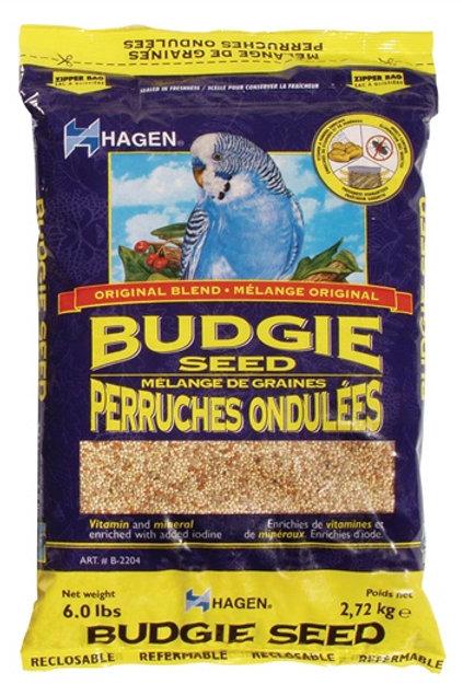 Hagen Budgie Seed - 6lb