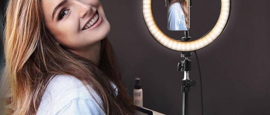 LED Camera Selfie Light Ring