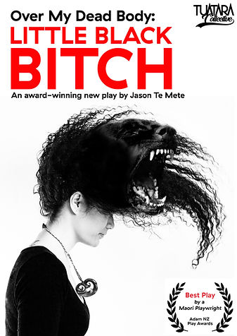 Little Black Bitch Poster