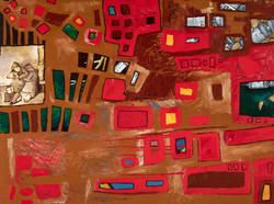 Alone: Original Painting by Tasha Riley  (photo credit: BuyArtNow)