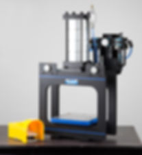 AirHEAD 5 Benchtop pneumatic box frame stamping press