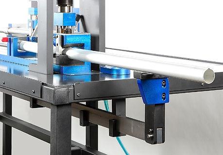 Air to oil mandrel punch press tool aluminum tube punching