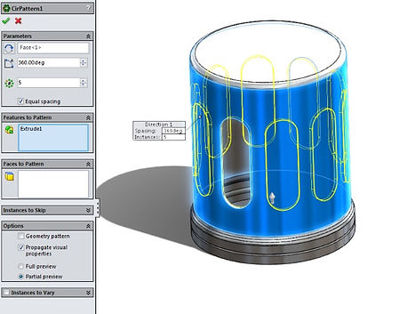 SolidWorks 3D CAD tutoring