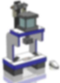 Customized Laboratory Box Frame Punch Press
