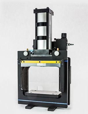 Box frame pneumatic shop air punch press