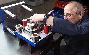 Tool and die maker manufacturing metal stampiing die in Canada