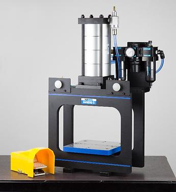 Custom 4 ton benchtop pneumatic box frame punch press