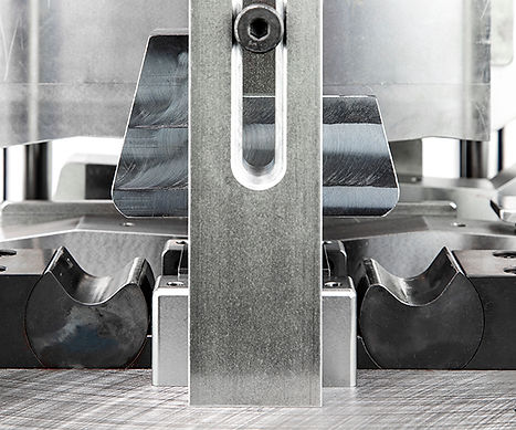 Rotary bender sheet metal forming press tool. Made in Canada