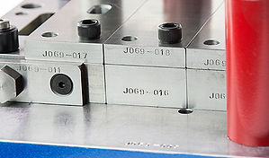 Metal stamping tool and die part numbering