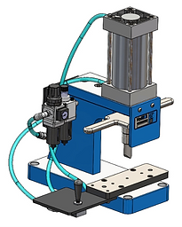 Custom pneumatic press design manufacturing