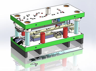 Metal stamping tool and die design by Vortool in North America.