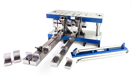 Tube / Pipe Flattening, Bending Punching and TrimmingTool and Die