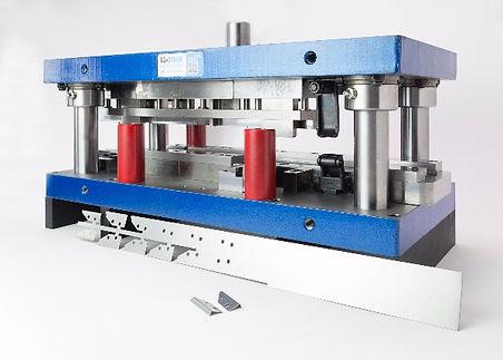 Custom progressive sheet metal stamping die manufacturing Canada