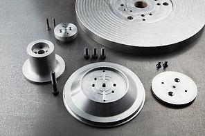 Custom metal spinning die components
