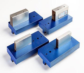 Custom press brake tooling for installing self clinching studs