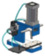 Custom benchtoppneumatic press design