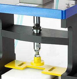 Laboratory custom pneumatic flat bed press