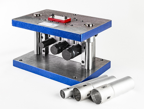 Multiple station portable mandrel tube tooling and die manufacturing