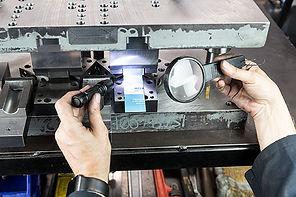 Progressive sheet metal stamping die tooling repair Surrey Vancouver Coquitlam