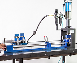 Air to oil mandrel punch press tooling - Multicyl cylinder