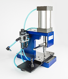 Custom benchtop pneumatic press manufacturing