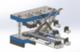 Tube / pipe flattening, bending punching and trimmingtool and die design