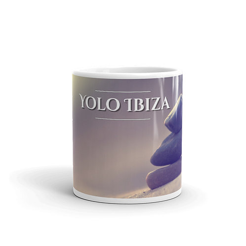 Yolo Ibiza Mug with chill out stones picture