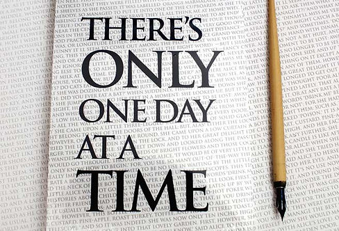 Writing Book - There's only one day...