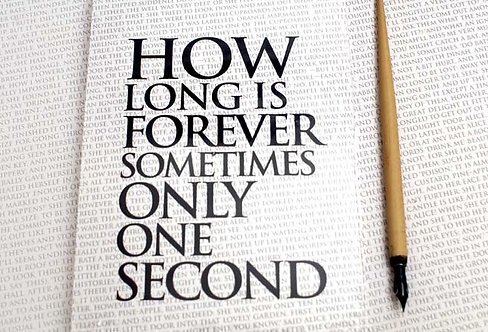 Writing Book - How Long is forever...