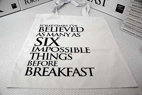 Wonderland Bags -  Sometimes I've Believed...