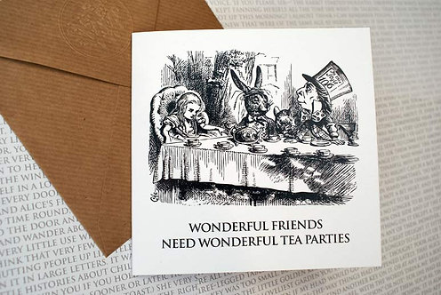 Picture Greeting Card - Wonderful Friends...