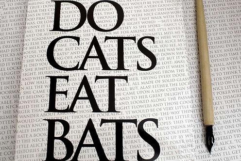 Writing Book - Do Cats Eat Bats
