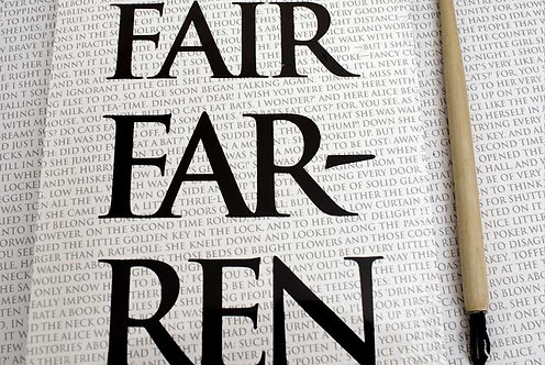 Writing Book - Fairfarren