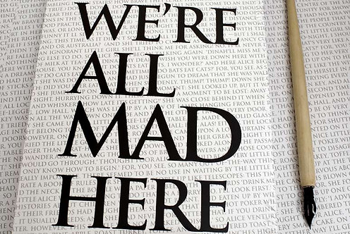 Writing Book - We're all made here