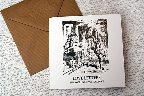 Picture Greeting Card - Love Letters...