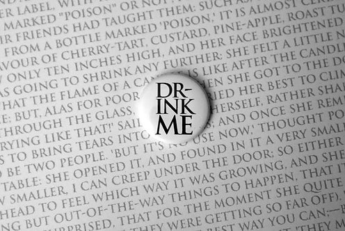 Button Badge - Drink Me