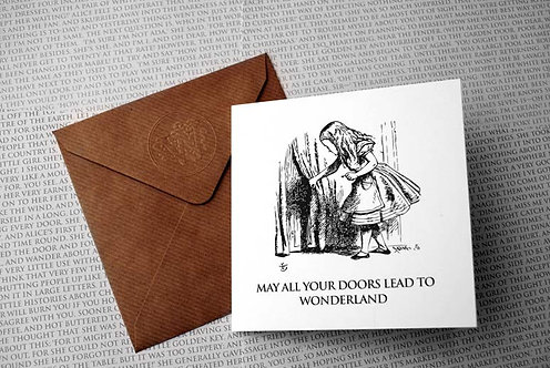 May all your doors lead to Wonderland