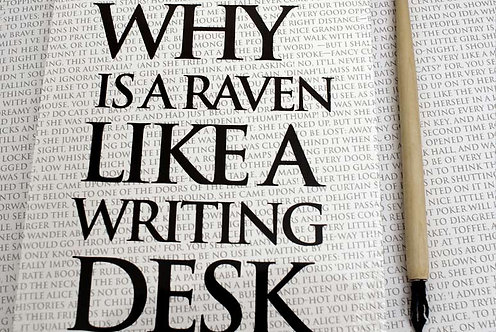 Writing Book - Why is a Raven like a Writing Desk