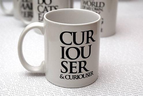 Curiouser & Curiouser  Wonderland Mug