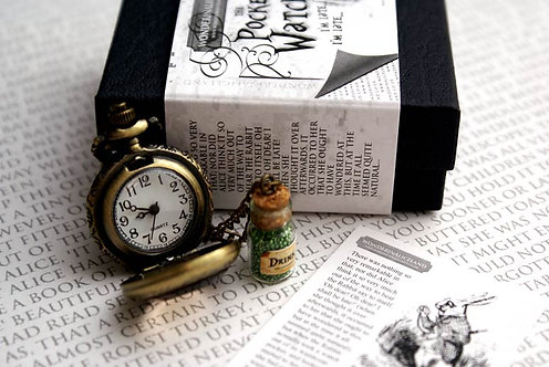 The White Rabbit Pocket Watch - Boxed Edition