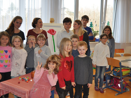 Malworkshop an der Nikolaus Lenau Schule in Gmunden