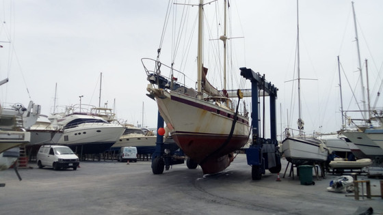 Update on the vessel and major refit