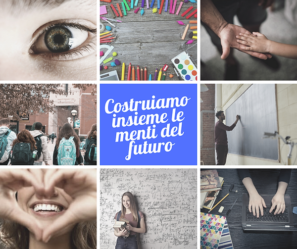 Marrone Collage Semplice Post di Faceboo