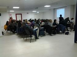 Aula piena per il nostro corso di aggiornamento a Fabriano