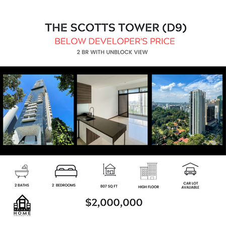 The Scotts Tower   2 BR