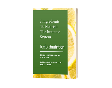 7 Ingredients for Immunity Book Cover We