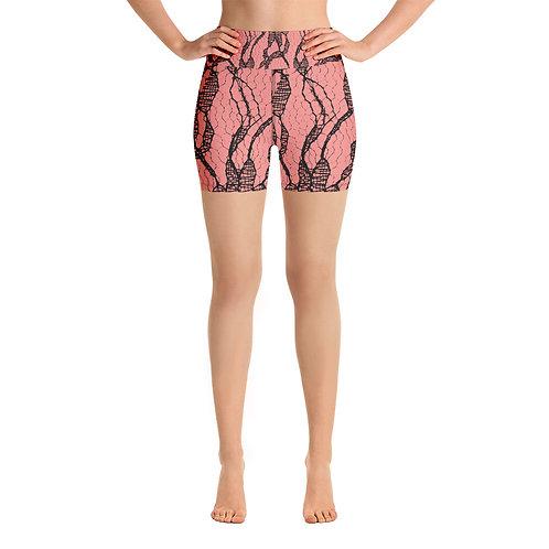 Yoga Shorts - Delicate 1